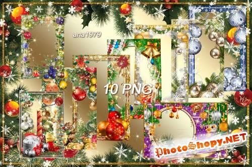 Сборник новогодних рамок - Скоро новый год