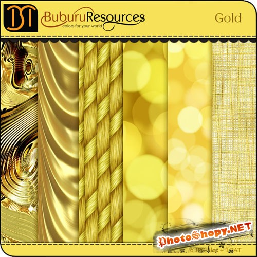 Gold Photoshop Patterns