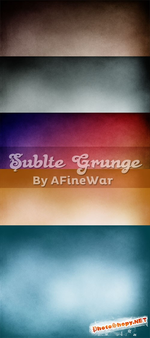 Subtle Grunge Textures Pack 1