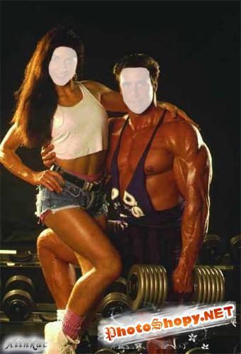 Шаблон для фотошоп - Идеальная пара!