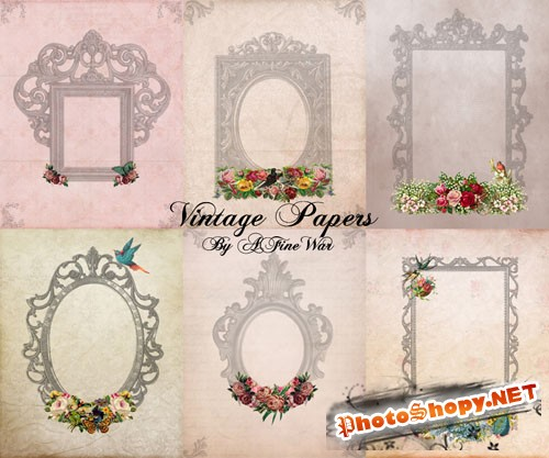 Vintage Papers Pack