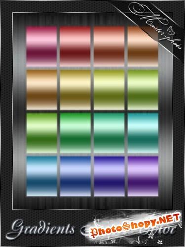Градиенты для фотошопа - Super Color