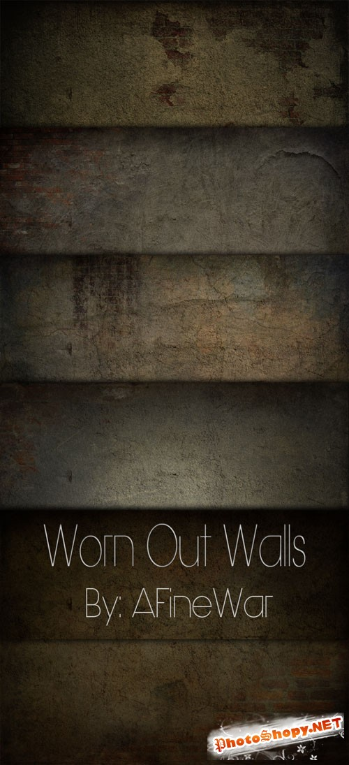 Worn Out Walls Textures Pack