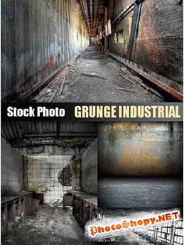 Фоны для Photoshop - Урбанистический распад