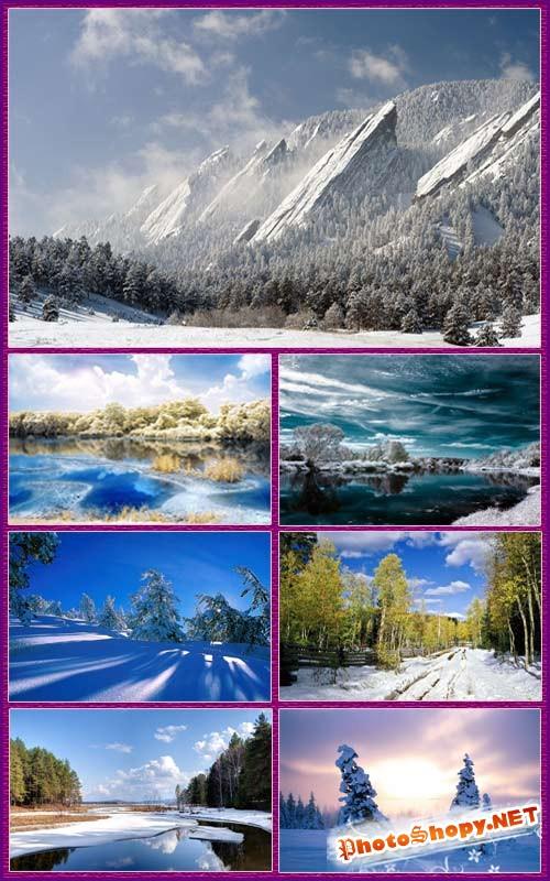 Обои - Зимний пейзаж