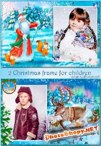Очаровательные новогодние рамочки для всей семьи – За окошком снег идёт, значит, скоро Новый год