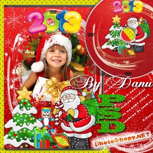 Новогодний набор для DVD - Дед Мороз у нас на елке