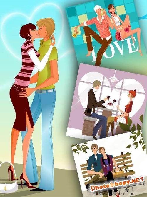 Люди и любовь в векторе