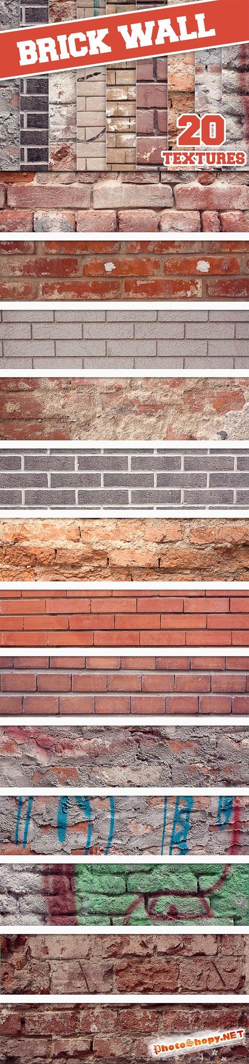 Designtnt - Brick Wall Textures