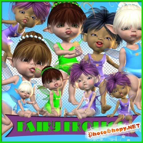 Детский скрап-набор - Шаловливые феи