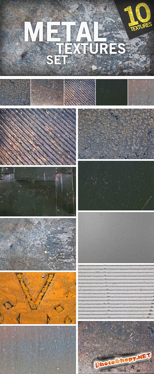Designtnt - Metal Textures
