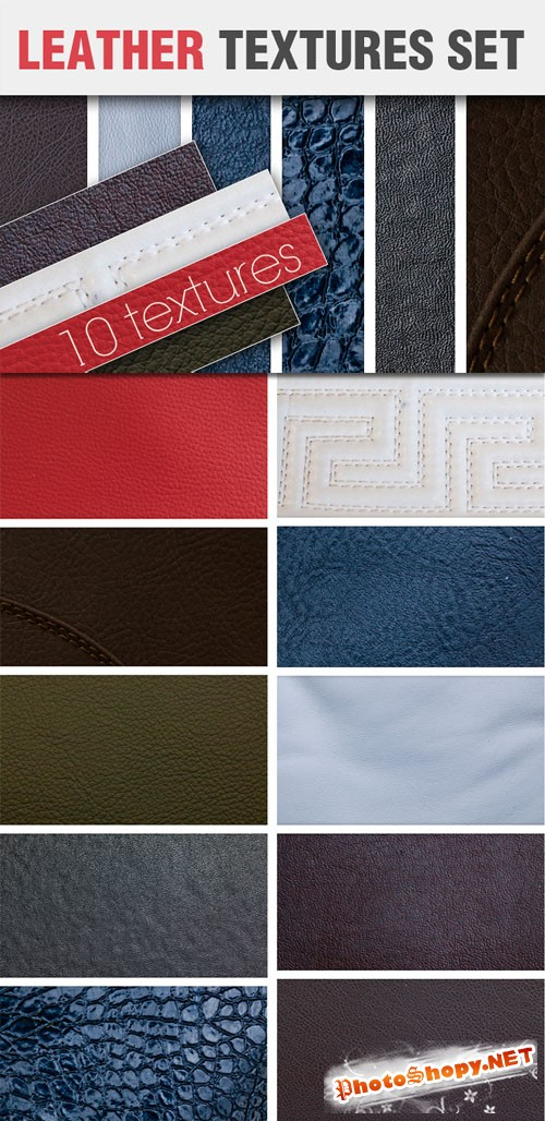 Designtnt - Leather Textures