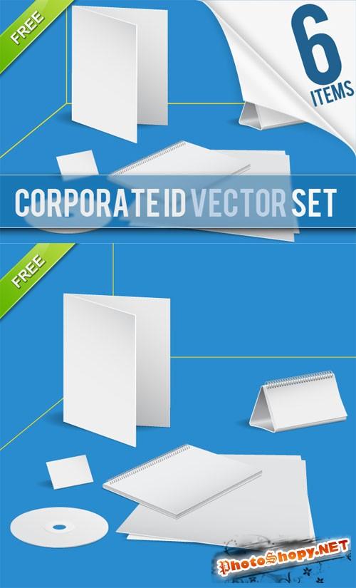 Designtnt - Vector Set Corporate Identity Templates