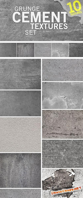 Designtnt - Grunge Cement Textures