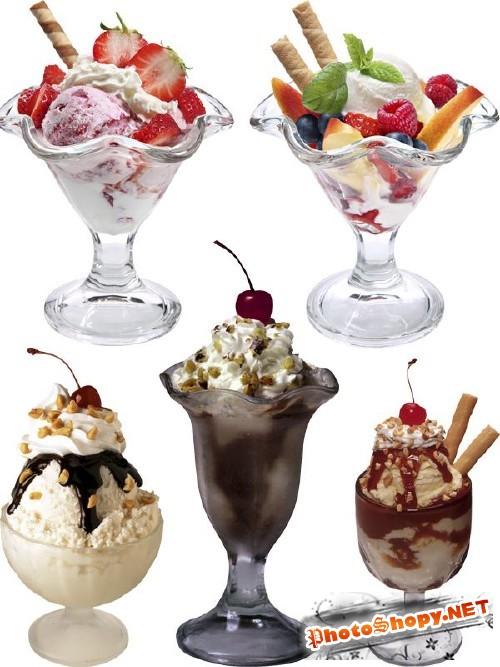 Фотосток: Десерт - мороженое