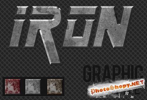 Designtnt - Metal Graphic Style