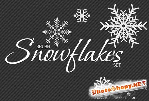 Designtnt - Snowflakes Brushes