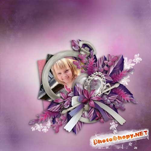 Интересный женский скрап-набор - Роковая женщина