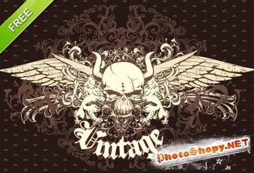 Designtnt - Vector Vintage Emblem