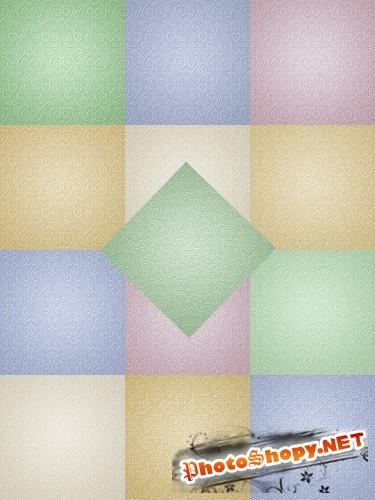 Текстуры -Дамаск пастель