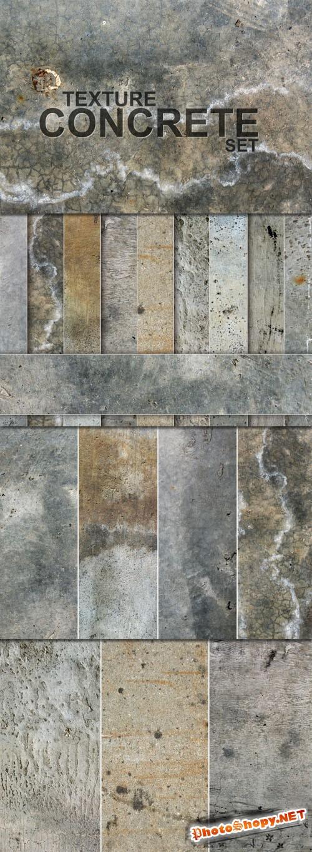 Designtnt - Grunge Concrete Textures