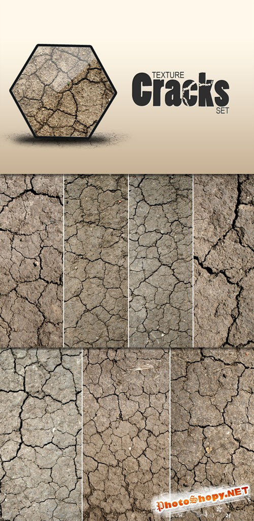 Designtnt - Earth Cracks Textures