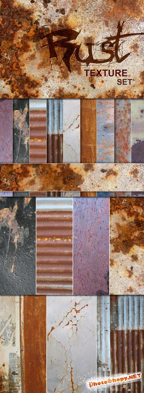 Designtnt - Rust Textures Set