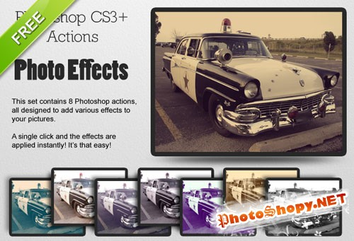 Designtnt - Photo Effects Action Set