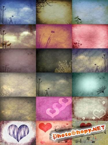 Текстуры для Photoshop - Полет фантазии