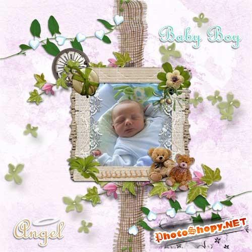 Детский скрап-набор - Семя любви