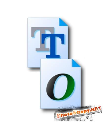 Кириллические шрифты MacOS, Windows