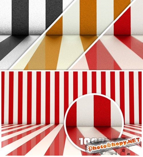 Striped Backdrops PNG Clipart
