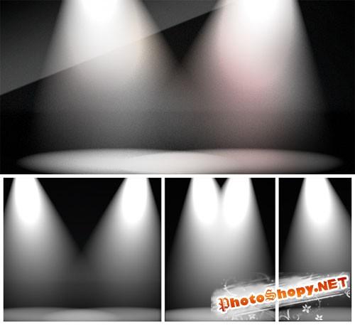 Spotlight Backdrops PNG Clipart