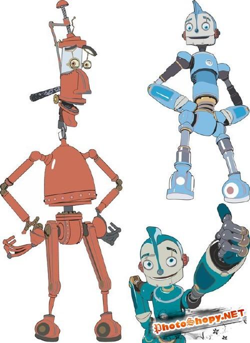 Векторные роботы часть 3