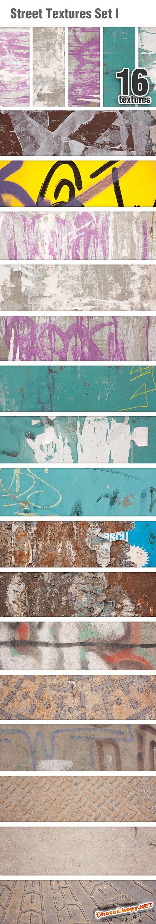 Designtnt - Street Textures Set 1