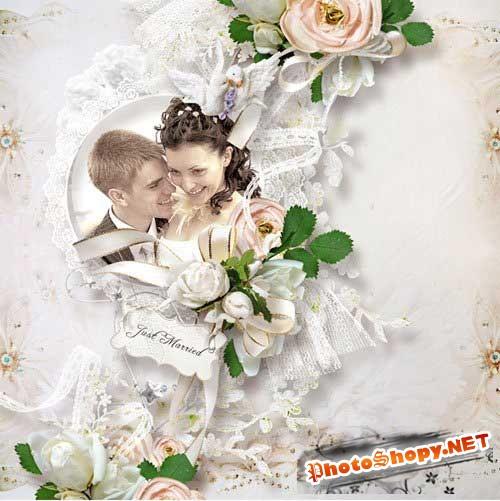 Шикарный свадебный скрап-набор - Когда двое становятся одним целым