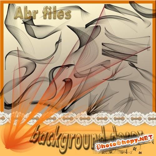 Кисти для Photoshop - Абстрактный фоновый дым