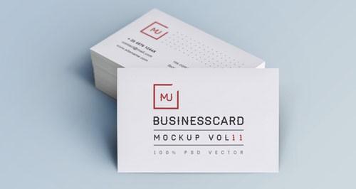 Pixeden - Psd Business Card Mock-Up Vol11