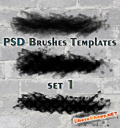 PSD Brushes Templates Set 1
