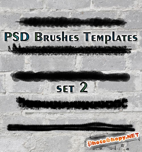 PSD Brushes Templates Set 2