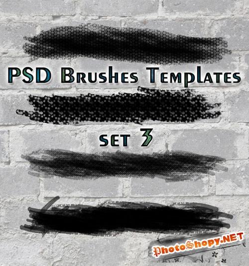 PSD Brushes Templates Set 3