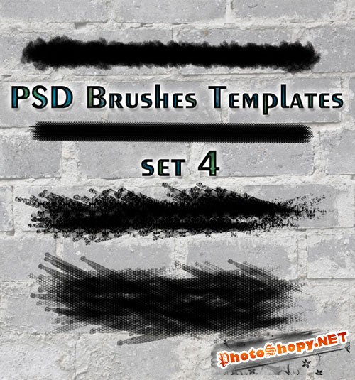 PSD Brushes Templates Set 4