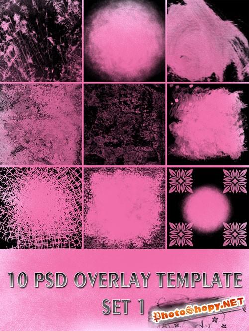 Overlay PSD Templates Set 1
