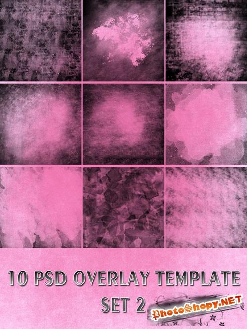 Overlay PSD Templates Set 2