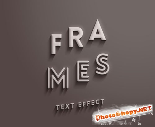 Pixeden - Psd Frames Text Effect