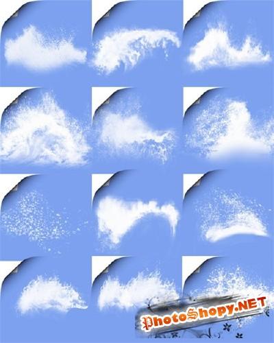 Клипарт для Photoshop - Пена морская