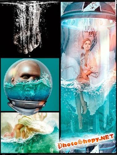 Кисти для Photoshop - Эмоции чистой воды