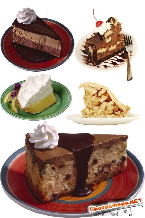 Фотосток: Кусочек торта