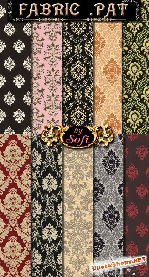 Damask Photoshop Patterns
