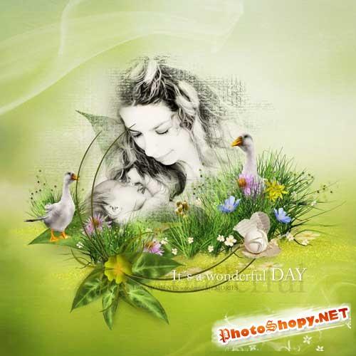 Весенний скрап-набор - Дождался весны